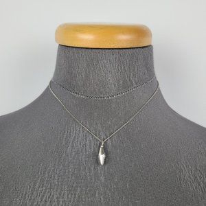 Vintage Sterling Silver Dainty Necklace